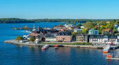 Sweden, Vaxholm Stockholm Picture taken from Vaxholms Kastell