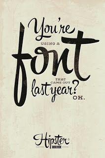 hipster script font