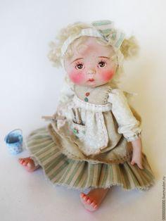 Купить Надюшка - кукла авторская, авторская работа, ручная авторская работа, кукла артюшенковой оксаны