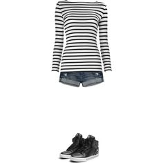 Untitled created by on Abercrombie & Fitch Supra Sneakers, Abercrombie Fitch, Polyvore Fashion, Shoe Bag, Shopping, Collection, Tops, Design, Women