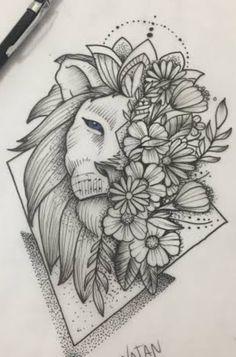 Art Drawings Sketches Simple, Dark Art Drawings, Flower Sketches, Pencil Art Drawings, Tattoo Drawings, Doodle Art Designs, Tattoo Designs, Doodle Art Drawing, Art Sketchbook