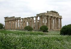 Selinunte,Italy. If you enjoy ruins as well as a beautiful view this is a wonderful place to go.
