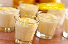 Receita: Dedo de Moça   Foto: Carol Milano Rendimento: 6 porções Ingredientes - 1 lata de leite condensado - 1 caixa (200mL) de creme de leite (UHT, de cai