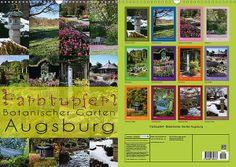 Farbtupferl - Botanischer Garten Augsburg 2014 Kalender