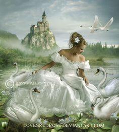 Princess-Of-The-Pond by EnchantedWhispersArt on DeviantArt