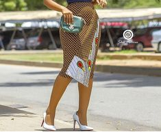 Jupe crayon africaine African Print Skirt, African Print Dresses, African Print Fashion, African Fashion Dresses, African Fabric, African Dress, Ankara Fashion, African Attire, African Wear