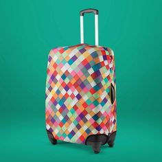Housse de valise Arlequin - BIBELIB