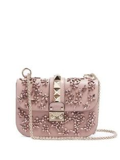 Lock small embellished leather shoulder bag | Valentino | MATCHESFASHION.COM AU