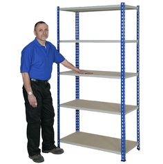 UK Storage Racking, Industrial and Warehouse Shelving Systems Boltless Shelving, Shelving Systems, Industrial Shelving, Storage Rack, Storage Shelves, Warehouse Shelving, Ladder Bookcase, Home Decor, Industrial Shelves