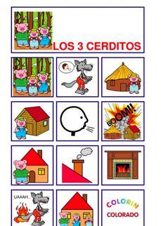 Pictograms of Well-Known Children's Stories to use in MFL class