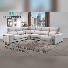 👉Cuando eliges #Mundoconfort, estás eligiendo #confort, #calidad y #durabilidad⚡ Nuestros sofás están diseñados para el descanso que deseas y lo ADAPTAMOS A TU MEDIDA para que vestir tu #hogar sea un placer. ✨TODO lo que necesitas por menos de lo que imaginas✨