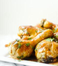 baked sriracha honey wings / recipe diaries