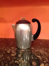 VTG Wear Ever Aluminum Coffee Maker All Parts Included VGUC