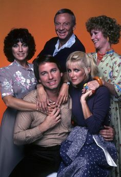 """""""Three's Company"""" - one of the best TV shows ever Comedy Show, Comedy Movies, John Ritter, 90s Tv Shows, Suzanne Somers, Vintage Television, Three's Company, Cartoon Movies, Classic Tv"""