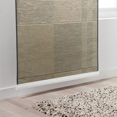 A perfect solution when you want privacy or want to block annoying glares on TV and computer screens. The outside light still comes through and creates a cozy atmosphere in the room. Sliding Panel Curtains, Sliding Door Coverings, Curtains For Closet Doors, Patio Door Coverings, Sliding Door Blinds, Room Divider Doors, Door Window Treatments, Sliding Panels, Window Coverings