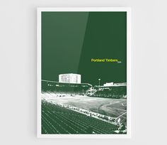 Portland Timbers Providence Park MLS Football Poster  A3