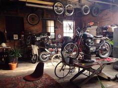 #motorcycle #garage discover #motomood