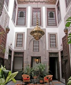impossible to capture the full essence of a riad in a photo..