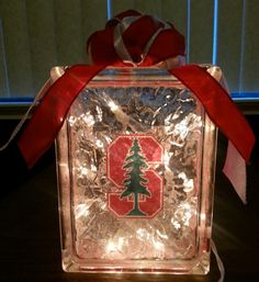 Check out this item in my Etsy shop https://www.etsy.com/listing/197896286/stanford-university-lighted-glass-block