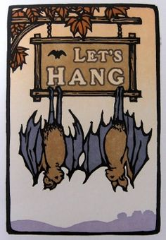 Let's Hang Boxed Set of cards. www.batgoods.com. I'd like this as a framed print :)