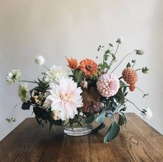 Looking for some flower inspiration this season? Turn to Instagram! There are so many arrangements that are sure to inspire. For more fall decorating and entertaining ideas, head to Domino.