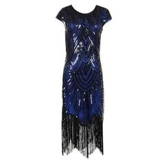 Flapper Dress – Black And blue / 6 It's holiday time which means time for the best Great Gatsby flapper dress. This stunning dress is great for hostessing or attending any party or event. Dress is made from stretchy fabric covered in sequins, round neck, cap sleeves and a fringed hem that falls just below … Flapper Dress – Black And blue / 6 yazısı ilk önce Party üzerinde ortaya çıktı.