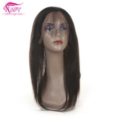 Find More Lace Frontal Information about 360 Lace Frontal Pre Plucked Bleached Knots Brazilian Straight Frontal With Baby Hair Brazillian Human Hair Straight Virgin Hair,High Quality brazilian virgin hair lace wigs,China brazilian white Suppliers, Cheap lace african from NAFY Hair Products Online Store on Aliexpress.com