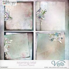 Morning Mist [Stacked Papers] by Vero