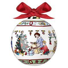 Hutschenreuther Porcelain Christmas Decoration Ball, Christmas Tree Hanger, Motive: Christmas Mail, Hutschenreuther http://www.amazon.co.uk/dp/B00K5WEQYO/ref=cm_sw_r_pi_dp_YRw6wb1KRDQE7