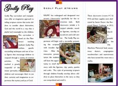 Godly Play Curriculum Map - NSUMC Children Faith Formation Godly Play, Curriculum Mapping, Sunday School Crafts, Classroom Activities, Storytelling, Special Events, Faith, Student, Invitations