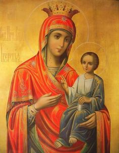 Virgin And Child Religious Art by Christian Art Hail Holy Queen, Christian Artwork, Orthodox Christianity, Art Thou, Orthodox Icons, Mother Mary, Religious Art, Our Lady, Lord
