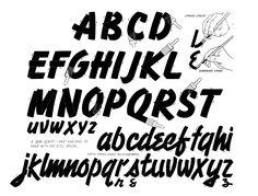 speedball alphabet