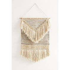 Magical Thinking Textured Shaga Wall Hanging ($99) ❤ liked on Polyvore featuring home, home decor, wall art, textured wall art, woven wall art, urban outfitters wall hanging, texture home decor and woven wall hanging