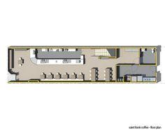 Floor plan of St Franks Coffee by OpenScope Studio