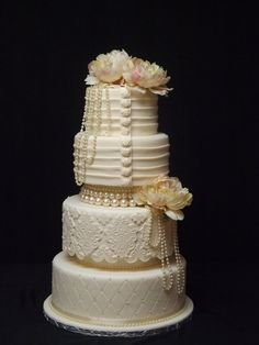 vintage love - by rosevanille @ CakesDecor.com - cake decorating website