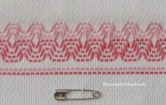 Learn how to do Swedish Weaving (a.k.a. huck embroidery) for free!