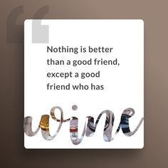Must-Have Gadget for Wine Lovers that lets You Enjoy the Perfect Glass without Must Have Gadgets, The Last Drop, Perfect Glass, Wine Quotes, Best Friends, Place Card Holders, Good Things, Bestfriends, Best Freinds