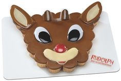 Edible Cake Frosting Sheet Topper Kitchen, Dining & Bar Devoted Rudolph The Red Nosed Reindeer