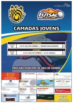 Futsal: ACR Formação > 25 Out 2014 @ Pavilhão Municipal, Vale de Cambra   #ValeDeCambra #futsal