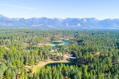 15 acres between the lakes and trees Bigfork Montana, Mystic Mountain, Lakes, Acre, Vacation, Mountains, Travel, Outdoor, Outdoors