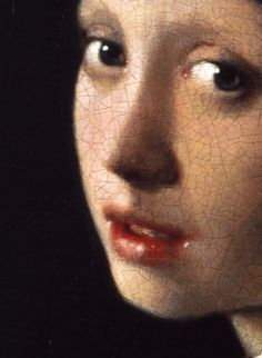 Johannes Vermeer, Girl with a Pearl Earring (detail), ca. 1665