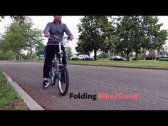 (5) Schwinn Loop 7-Speed Folding Bike Test Ride - YouTube