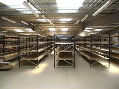 Storage is all about getting the right product to the right place at the right time. This simple philosophy has enabled HMF to help many companies get the most efficient use of space out of their warehouse, store or office environments.  HMF have many years experiance in designing total logistical warehouse solutions, combining the use of Fork lift Trucks, Pallet Racking, Shelving to integrate with conveyors and picking systems to achieve a safe, effiecient warehouse layout.