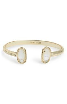 Like the all black one  Kendra Scott 'Elton' Station Cuff Bracelet available at #Nordstrom