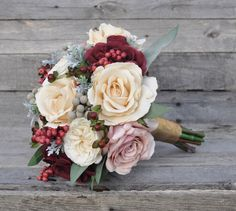 Keepsake wedding bouquets  shipping  from Holly's Flower Shoppe on Etsy.