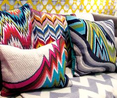 Re inventing needle point the Jonathan Adler way