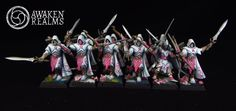 Wood Elves Eternal Guard japanese cherry blossom style