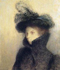 Odilon Redon Portrait de Marie Botkine