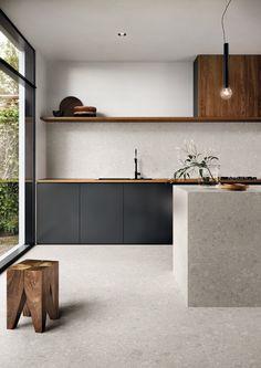 Home Interior, Interior Design Kitchen, Kitchen Designs, Interior Modern, Minimalist Interior, Apartment Interior, Modern Luxury, Interior Design Simple, Modern Rustic