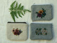 wool embroidery by tiny happy, via Flickr
